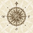 Vintage compass rose — Stockvektor