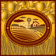 Royalty-Free Stock Imagen vectorial: Retro farm