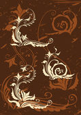 Set of decorative elements — Stockvektor