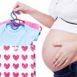 Shopping for a baby — Stock Photo #5039698