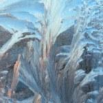 Frosty pattern background — Stock Photo #5038865