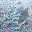 Frosty pattern background — Stock Photo