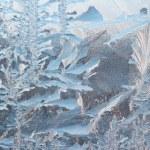 Frosty pattern background — Stock Photo