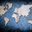 Grunge world map — Stock Photo #5288963
