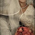 Grunge bride — Stock Photo #5289121