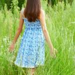 Beautiful young teenage woman — Stock Photo