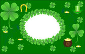Background for St. Patrick's Day — Stock Vector