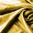 Gold drape - Stock Photo