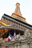 Eiffel Tower in Las Vegas — Stock Photo