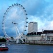 Stock Photo: London Eye, London.