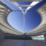World cup stadium i Sydafrika 2010 — Stockfoto