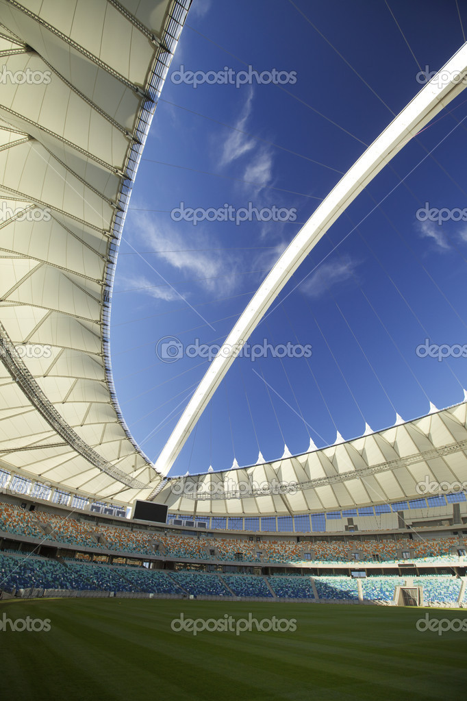 Soccer or Football World Cup Venue held in the city of Durban, South Africa — Stock Photo #5288136