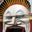 Luna Park, rides and fun — Stock Photo