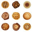 Royalty-Free Stock Imagen vectorial: Cookies