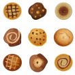 Cookies - Stock Vector