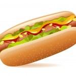 Hotdog — Stock Vector #5142628