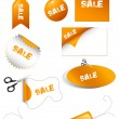 Royalty-Free Stock Vector Image: Sale Tags