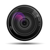 Camera lense — Stock Vector