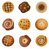 Cookies — Stock Vector