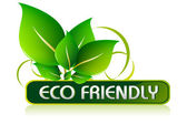 Eco Friendly Icon — Stock Vector
