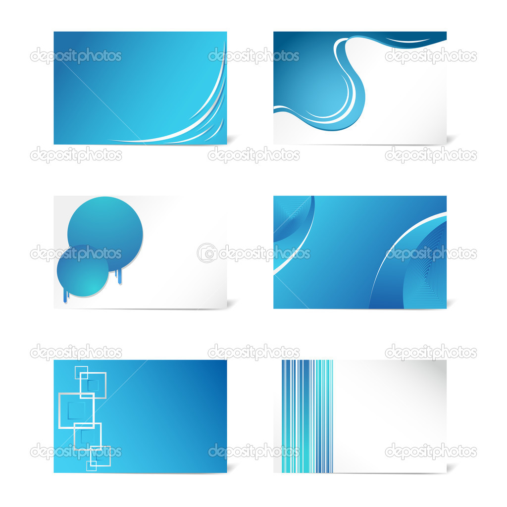 Set of Business Card Template — Stock Vector © vectomart