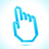 Hand Pointer — Stock Vector