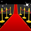 Red Carpet - Stockvectorbeeld