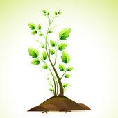 Baum — Stockvektor