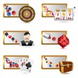 Royalty-Free Stock Vector Image: Casino Icons