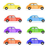 Colorful Car — Stock Vector