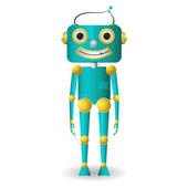 Manliga robot — Stockvektor