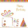 Birthday Card — Stock Vector #5190099