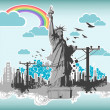 Statue of Liberty — Stock Vector #5193555