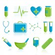 Medical Icon Set — Stock Vector #5208315