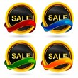 Sale Button - Stock Vector
