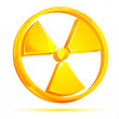 Nuclear Sign - Stock Vector