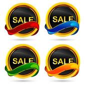 Sale Button — Stock Vector