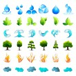 Element of Nature - Stock Vector