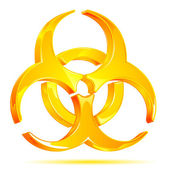 Biohazard Symbol — Stock Vector