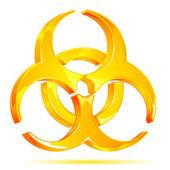 Biohazard Symbol — Stock Vector