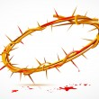 crown of thorns — Stock Vector