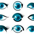 Set of Eye — Stock Vector #5316323