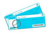 Flight Ticket — Stock Vector