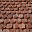 Detail on a wooden Church - Foto Stock