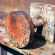 Stockfoto: Rusty old stopper