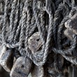Old fishing net — Stock Photo