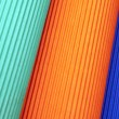 Background of colored corrugated cardboard — Stock Photo