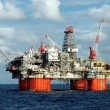 big oil platform — Stock Photo