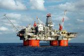 Plataforma petrolera grande — Foto de Stock