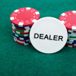Poker chips — Stock Photo #5036008